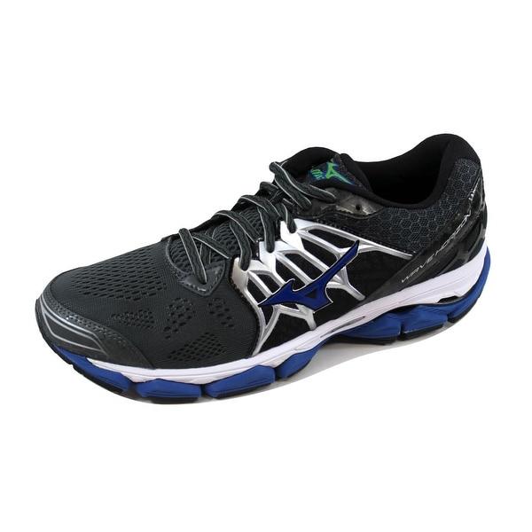 Mizuno Men's Wave Horizon Black/Blue-Silver J1GC172630