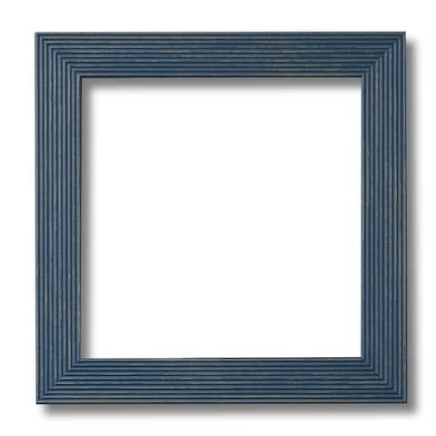 Retro Grooves Dusty Blue Handmade Frame