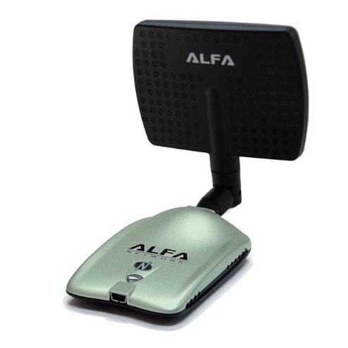 1000MW Wifi Network Long Range 802.11 B//N//G 300M USB Wireless Adapter+2x Antenna