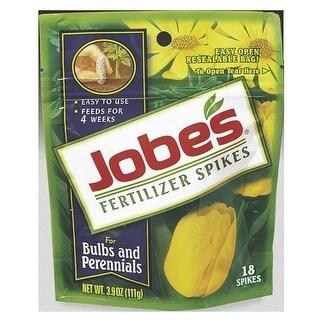Jobes 06205 Bulb & Perennial Fertilizer Spikes, 9-12-6