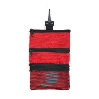 Orlimar Golf Detachable Accessory Pouch, Cherry Red