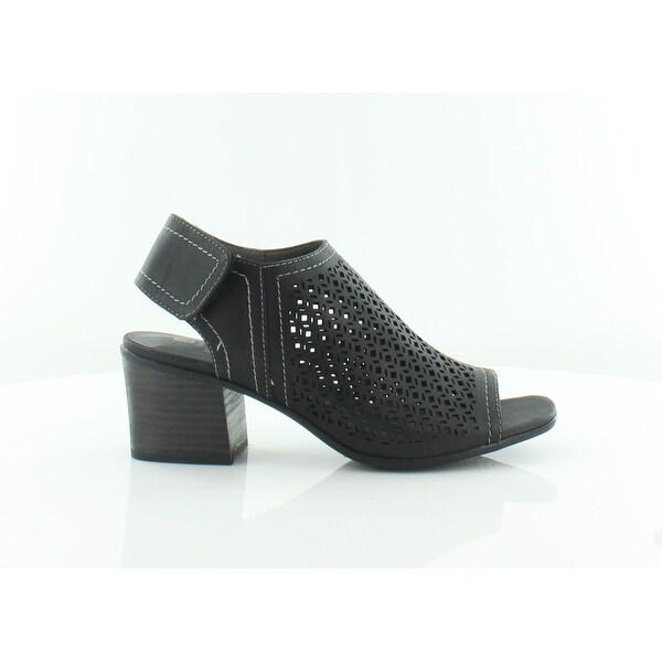 White Mountain Lenisis Women's Sandals & Flip Flops Black