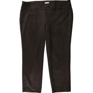 Link to Charter Club Womens Cambridge Casual Trouser Pants, brown, 24W Regular Similar Items in Pants