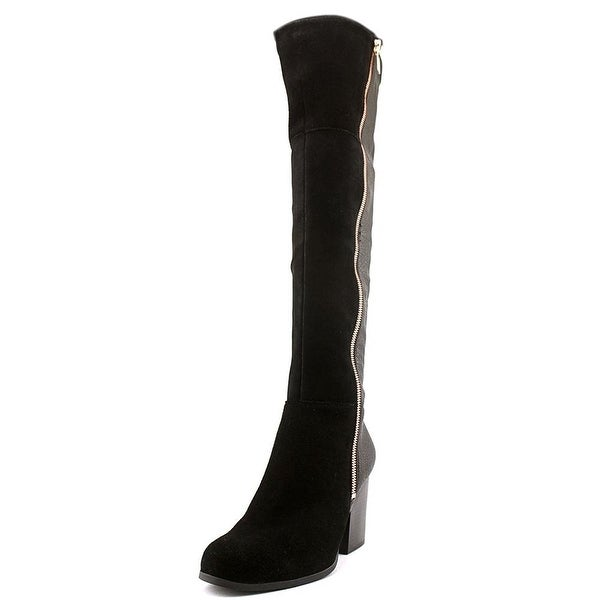 Bar III Womens PARTY Leather Closed Toe Over Knee Fashion Boots