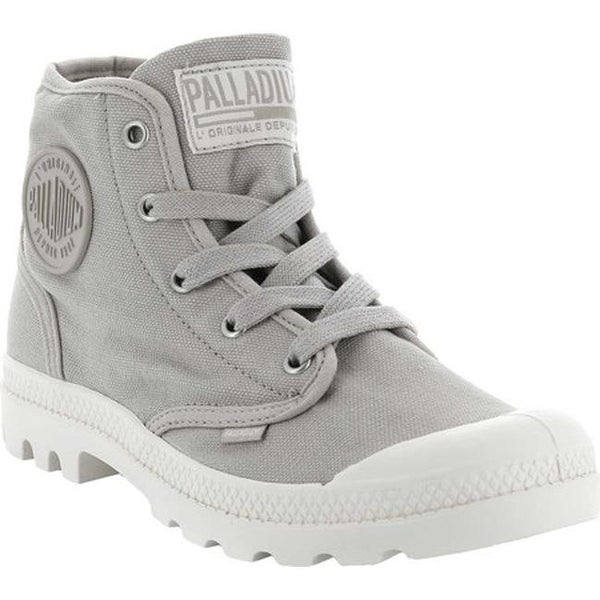 d3fee05a45b Shop Palladium Women's Pampa Hi Sneaker String/Ecru - On Sale - Free ...