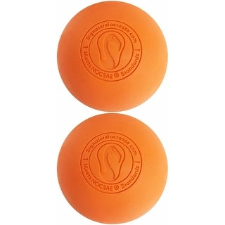 Signature Lacrosse Balls Fully Certified Official (Orange) Bundle