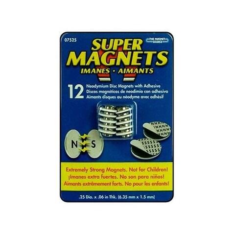 the magnet source neodymium magnet adisc 1 4 12pc free shipping