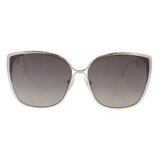 Jimmy Choo MATY/S 017F Palladium Glitter Cat Eye Sunglasses - 58-14-140