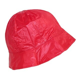 ShedRain Women's Waterproof Vinyl Packable Rain Hat - One Size