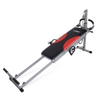 AKONZA Home Fitness Indoor Workout Arm Resistance Trainer Folding Exercise Machine Gym Equipment