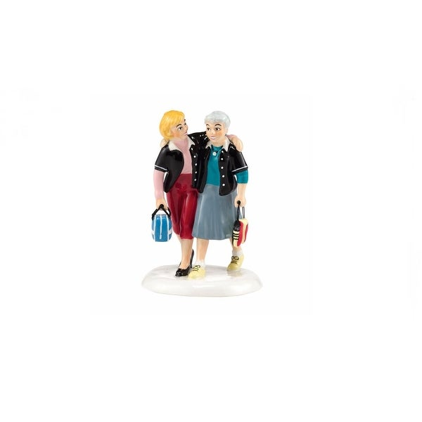 """Department 56 Snow Village """"A Perfect Game"""" Accessory #4036577 - BLue"""