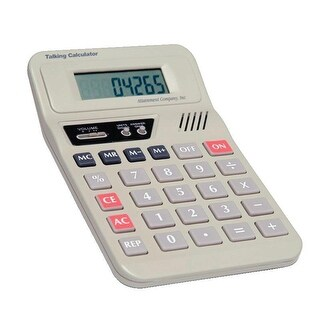 Attainment Talking Calculator, 4 X 7 in
