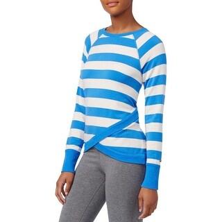 Tommy Hilfiger Womens Sweatshirt Long Sleeves Striped