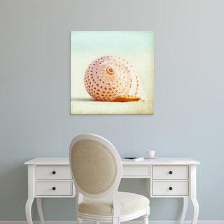 Easy Art Prints Carolyn Cochrane's 'Seashell Voices' Premium Canvas Art