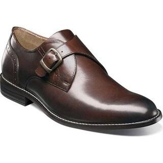 Nunn Bush Men's Sabre Monkstrap Brown Leather