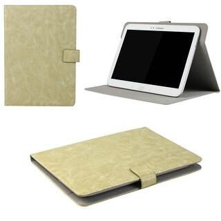 "JAVOedge Rugged Vintage Universal 7-8""Book Case for the iPad Mini, Samsung Tab, Nexus 7, Nook HD (Beige)"