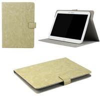 "JAVOedge Rugged Vintage Universal 7-8""Book Case for the iPad Mini, Samsung Tab, Nexus 7, Nook HD (Beige)"