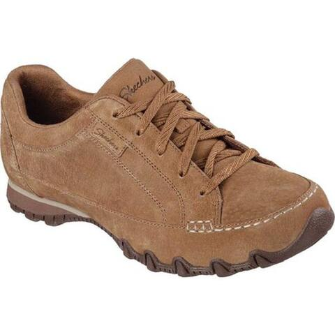Skechers Women's Relaxed Fit Bikers Curbed Oxford Desert