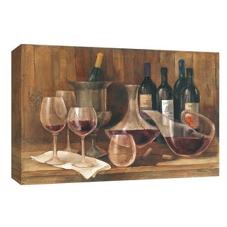 """PTM Images 9-153828  PTM Canvas Collection 8"""" x 10"""" - """"Fine Vintage"""" Giclee Wine Art Print on Canvas"""