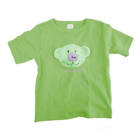 Baby Beeps Pistachio T-Shirt XS 2-4T