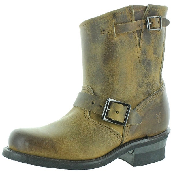 c754dd670e5 Shop Frye Engineer 8R Women's Ankle Buckle Boots Leather - Free ...