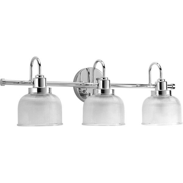 Miseno MLIT7704 Bella 3-Light Bathroom Vanity Light - Reversible Mounting Option