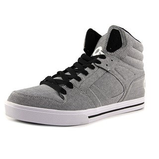Osiris Clone  Men  Round Toe Canvas Gray Skate Shoe