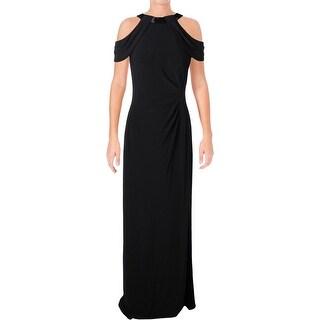 Lauren Ralph Lauren Womens Formal Dress Ebellished Sleeveless