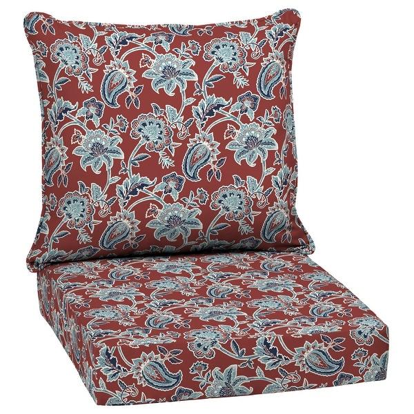 Arden Selections Caspian Outdoor Deep Seat Cushion Set - 24 W x 24 D in.. Opens flyout.