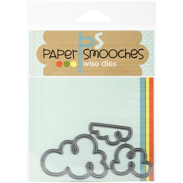 Paper Smooches Die-Curly Clouds