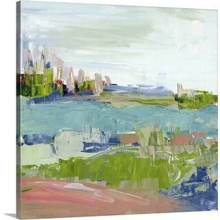 """Abstract Vista"" Canvas Wall Art"
