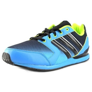 Adidas Streetrun VII K Youth Round Toe Synthetic Blue Running Shoe
