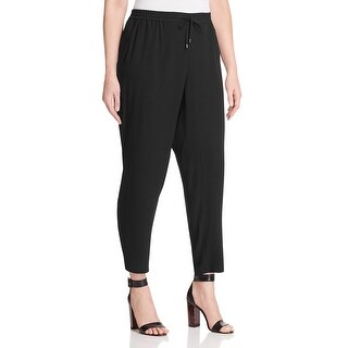 Eileen Fisher Womens Ankle Pants Silk Drawstring