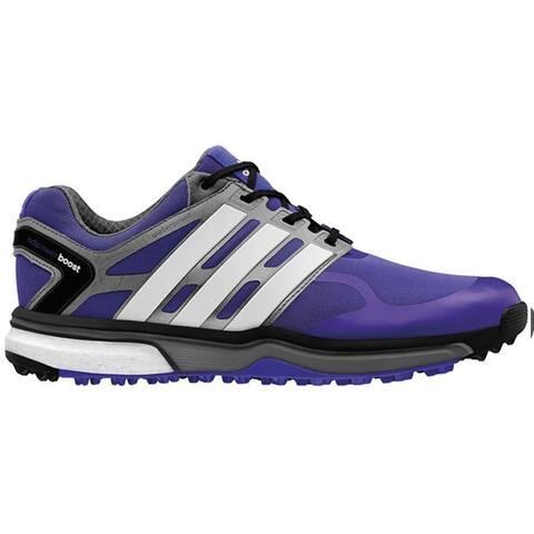 check out 4eb8f 161aa Adidas Men s Adipower Sport Boost Night Flash Running White Dark Silver  Metallic Q46925