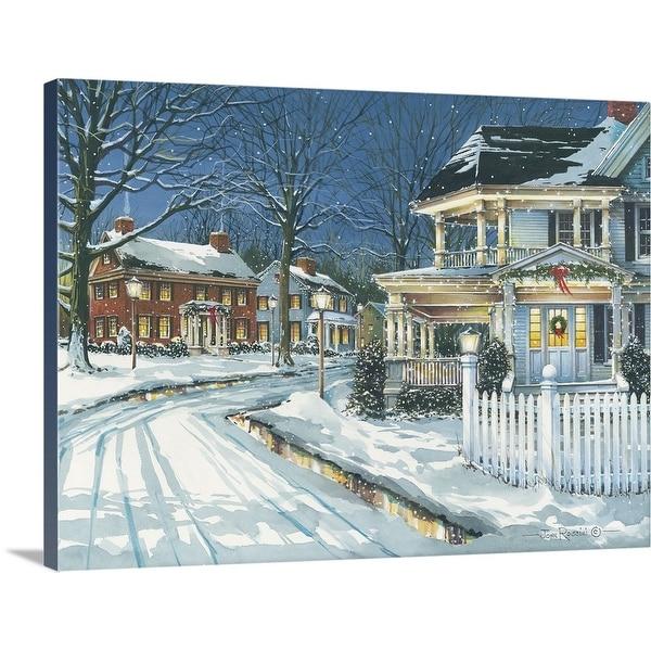 """""""Seasonal Lights"""" Canvas Wall Art"""