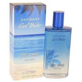 Cool Water Exotic Summer by Davidoff Eau De Toilette Spray (limited edition) 4.2 oz - Men