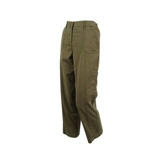 Karen Scott Women's Convertible Cargo Pants