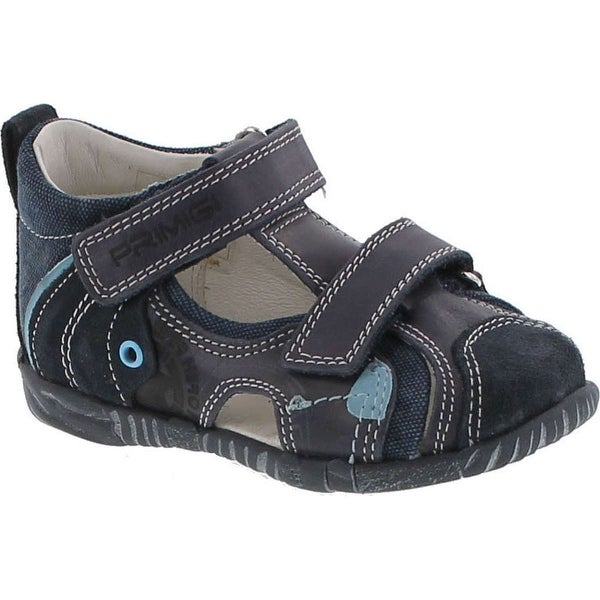 Primigi Boys 7044 European Fashion Sandals With Closed Supportive Back And Protected Toe