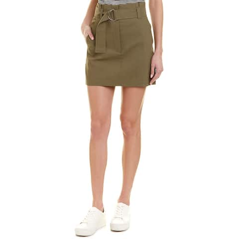 A.L.C. Bryce Linen-Blend Mini Skirt
