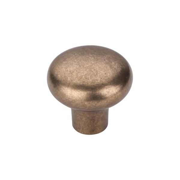 Top Knobs M1556 Aspen 1-3/8 Inch Diameter Mushroom Cabinet Knob - light bronze