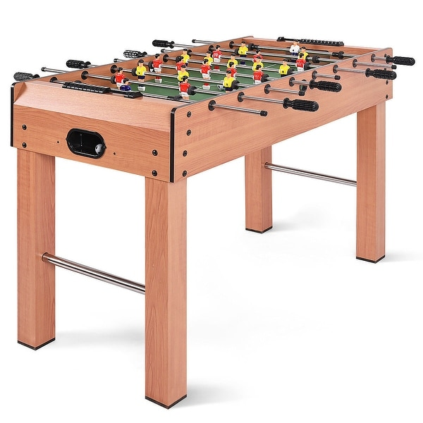 Costway 48'' Foosball Table Competition Game Soccer Arcade Sized