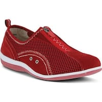 Spring Step Women's Racer Red Suede/Mesh