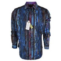 Robert Graham Classic Fit KATHLEEN'S BLUES Limited Edition Sport Shirt