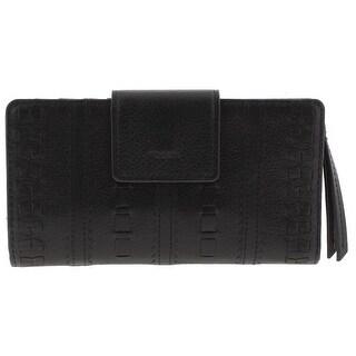 Fossil Womens Emma Tab Wallet Leather Clutch - o/s