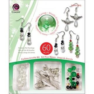 Christmas Trinkettes Bead Kit-Holiday Earrings
