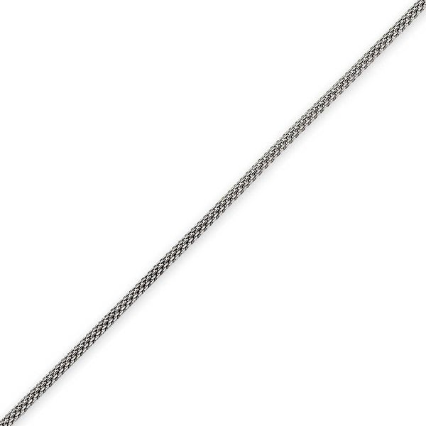 Chisel Stainless Steel 2mm Bismark Chain - 22 Inches (2 mm) - 22 in