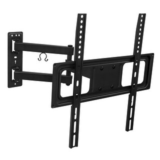 """Mount-It! TV Wall Mount w/ Full Motion Articulating Arm 17"""" Extension for 50-55"""" - MI-3991B - black"""