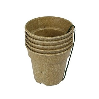 """Barn Eleven Biodegradable Starter Pots for Seedlings Cuttings and Plants, 4"""""""