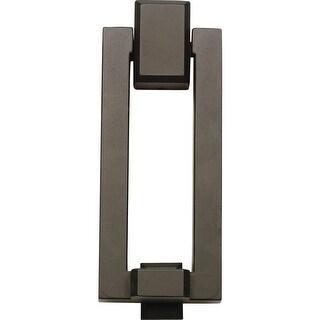 Atlas Homewares DK644 Mission Collection 5-1/3 Inch Door Knocker (Option: Nickel Finish)