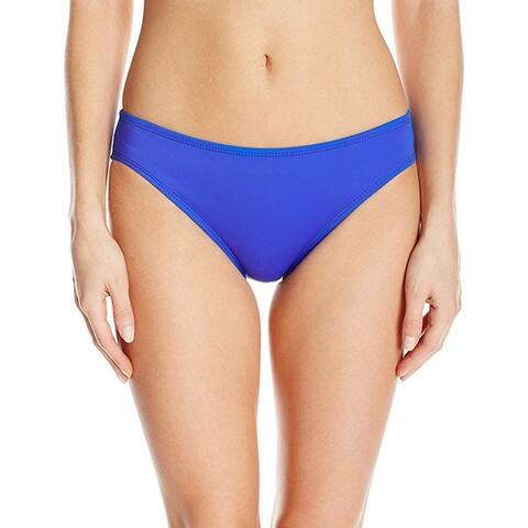 Nautica Women's Signature Retro Pant Bikini Bottom, Azure, SZ: M